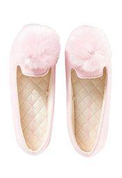 Peter Alexander Pom Pom Couture Slippers