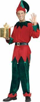 adult deluxe santas helper elf costume #christmas
