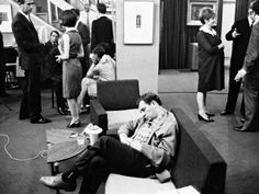 Jack Kerouac came to your party and got bored...or maybe just sleepy!