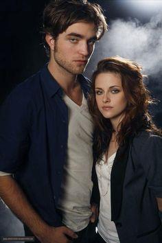 Rob Pattinson & Kristen Stewart for USA Today in 2008