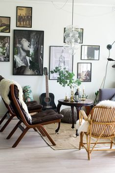 Paint colors that match this Apartment Therapy photo: SW 6991 Black Magic, SW 2841 Weathered Shingle, SW 7718 Oak Creek, SW 7060 Attitude Gray, SW 7653 Silverpointe