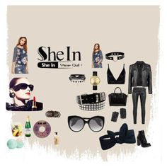 """""""shein"""" by inspiredbyart345 ❤ liked on Polyvore featuring Boohoo, Givenchy, Nixon, Jeffrey Campbell, Torrid, Yves Saint Laurent, Chanel, Eos, Bumble and bumble and Forever 21"""