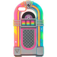 Katy Perry Juke Box Light Up Phone Case - iPhone 5/5S, Phone & Tablet... ($18) ❤ liked on Polyvore featuring accessories, tech accessories, phone and phone case
