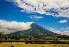 "The Magnificent ""Perfect Cone"" Mayon Volcano in Albay, Bicol, Philippines"