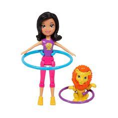 Conheça a sensacional Boneca Polly Pocket - Bambolê Safari Crissy da Mattel, um conjunto muito legal que vai conquistar as meninas.     O conjunto inclui uma linda boneca Crissy, que acompanha um divertido bambolê e também um simpático leão.     Polly Pocket é um brinquedo impecável que vai proporcionar muitos momentos de alegria.