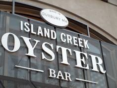 Island Creek Oyster Bar, Boston