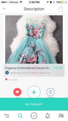 Dress | @giftryapp