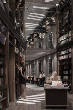 Zhongshuge Bookstore,© Shao Feng