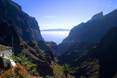 Masca, Tenerife  yes I walked down to the beach :>