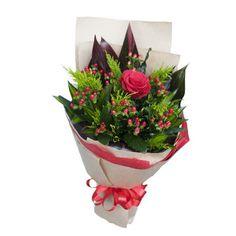 Bó hoa 1 bông hồng