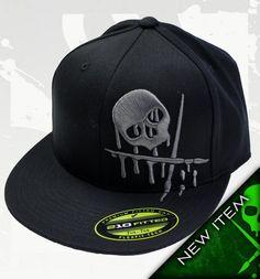 TOXIC Hat Black & Charcoal by Sullen Flex Fit Hats by Sullen: New Era, Flexfit and Snapback NEW ERA Sullen Hat #hats #painfulpleasures #sullen #clothing #fashion #snapback #flexfit #newera