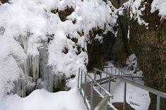 Zima v Terchovej. Janošíkové diery, Malá Fatra.