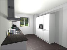 Projectkeuken type PARALLEL - Eigenhuis Keukens