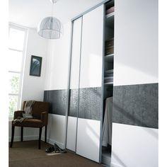 placard sous pente portes coulissantes et tiroirs pour les flots pinterest. Black Bedroom Furniture Sets. Home Design Ideas
