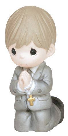 Features: -Communion. Product Type: -Figurine. Style: -Traditional. Theme: -Religious. Subject: -People. Finish: -Porcelain Bisque. Handmade: -Yes. Primary Material: -Porcelain. Age Group: -A