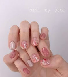 20 Excellent Spring Nails You Must Try In 2020 – Page 2 – LadyFlag Pink Manicure, Gel Nails, Acrylic Nails, Subtle Nails, Funky Nails, Stylish Nails, Trendy Nails, Pink Gel, Asian Nails