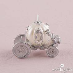 Cinderella Wedding Carriage Candle - Candle Wedding Favors - Favors by Type Creative Wedding Favors, Inexpensive Wedding Favors, Candle Wedding Favors, Cheap Wedding Venues, Candle Favors, Beach Wedding Favors, Wedding Dj, Wedding Themes, Wedding Ideas