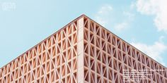 """Tile of Spain Award Winning Project """"New entrance to Palma's Intermodal Station,"""" designed by Joan Miquel Seguí Colomar Architecture Student, Facade Architecture, Webster House, Tile Manufacturers, Call For Entry, Tile Projects, Ceramic Floor Tiles, Dezeen, Entrance"""
