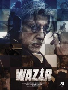 Checkout the first look of both #AmitabhBachchan and #FarhanAkhtar in #Wazir