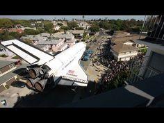 Time-lapse: Space shuttle Endeavour's trek across L.A. [Official]