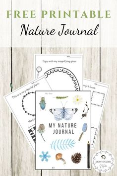 Nature Journal - Free Printable