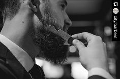 The Big Red No.88 being put to good use. Our friends over  @city.barbers have been putting our new stainless steel combs though their paces. Barber approved  #bigredbeardcombs #beardcomb #pocketcomb #comb #metalcomb #haircomb #barber #barbergang #barberlife #noshave #girlswholovebeards #beard #bearded #beardedmen #menstyle #mensstyle #mensgrooming #beardcare #beardstildeath