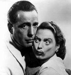 """Bogart and Bergman in """"Casablanca""""? Uh-oh...could it be?"""