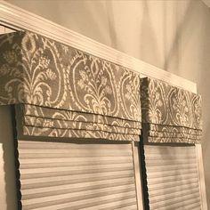 Kitchen Window Valances, Window Cornices, Valance Window Treatments, Window Treatments Living Room, Window Coverings, Window Curtains, Kitchen Blinds, Room Window, Kitchen Nook