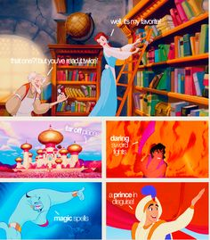 Belle Beauty and the Beast & Aladdin