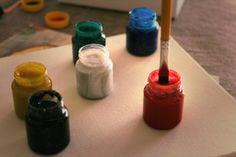 #pintando #artes #vermelho #pincel #tinta #tela