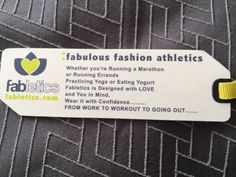 fabletics clothing tag - Google Search