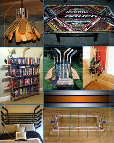 hockey house will have a few touches alike a few of these photos