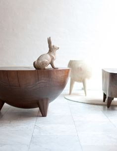 FURNITURE | WOODEN KIERAN STUMP | BDDW... No clue how you buy this stuff. Apparently if you have to ask, you aren't rich enough. Still, amazing. I'd love to know.