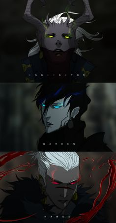 The Inquisitor, The Warden, and Hawke - Dragonage Badasses by Banished-shadow on deviantART