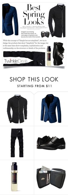 """""""TwinkleDeals 20"""" by maidaa12 ❤ liked on Polyvore featuring Stacy Adams, Frédéric Malle, H&M, men's fashion, menswear, menfashion and twinkledeals"""