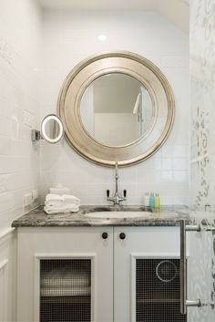 Decadent bathroom in The Residence, The George, Christchurch NZ Luxury Accommodation, Mirror, Bathroom, Home Decor, Washroom, Decoration Home, Room Decor, Mirrors, Full Bath