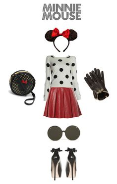"""""""Minnie Mouse"""" by alice-olivia ❤ liked on Polyvore"""