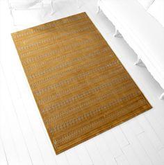 Delphi Gold Rug design by Cyan Design