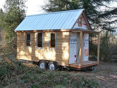 Will Pedersen from Abbotsford, BC Canada has been working on a Tumbleweed Tarleton, one of my favorite Tumbleweed Tiny House designs. Tiny House Company, Tiny House Blog, Tiny House Design, Trailer Casa, Cheap Camping Gear, Tumbleweed Tiny Homes, Mini, Camping World, Vancouver Island