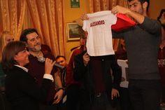 Maglietta di Piscinagranata per il piccolo Alessandro Benassi - cena Piscinagranata 2015