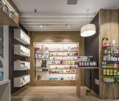 Decor Interior Design, Furniture Design, Interior Decorating, Pharmacy Gifts, Cosmetic Shop, Shop Interiors, Retail Design, Interiores Design, Store Design