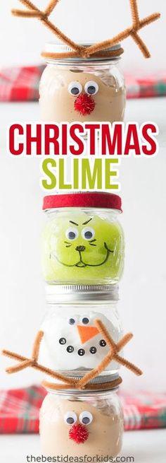 Christmas Slime Recipe for Kids
