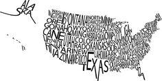 typography USA