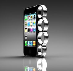 Punch People In The Face With This iPhone Brass Knuckle Case, Or Maybe Don't