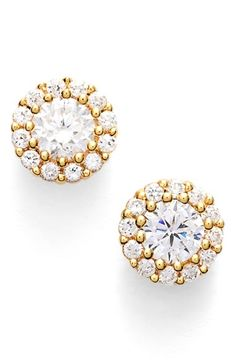 Free shipping and returns on Nordstrom Precious Metal Plated 0.50ct tw Cubic Zirconia Stud Earrings at Nordstrom.com. Radiant halos increase the natural sparkle of these lovely cubic-zirconia stud earrings set in precious metal.