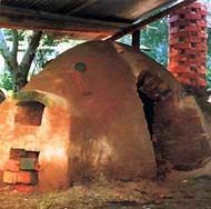 Anagama Kiln. - I believe that if I learn to make pottery, I will never stop, ever. I'll look up and I'll have a grandchild -kafi