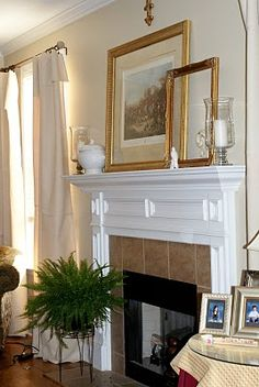 This is the color for the Living room... Cliveden Sandstone... oh and I love the fireplace