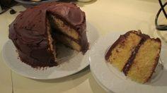 Versatile Vanilla Cake with Dark Chocolate Ganache.....to die for!