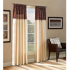 Belle Maison Ludlow Reversible Curtain Panel. Get unbeatable discount up to 60% Off at Walmart using Coupon and Promo Codes.