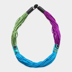 Ethnique Silk Necklace